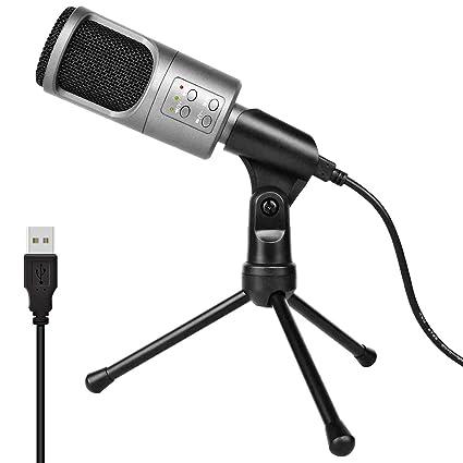 56720a3b537cd Micrófono de condensador USB