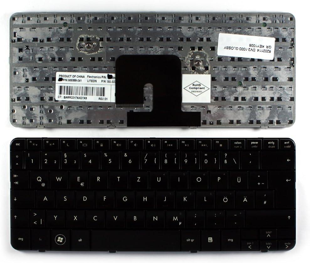 HP Pavilion dv2-1119ax HP Pavilion dv2-1118ax HP Pavilion dv2-1117ee Keyboards4Laptops German Layout Glossy Black Laptop Keyboard Compatible with HP Pavilion dv2-1117ax HP Pavilion dv2-1118nr
