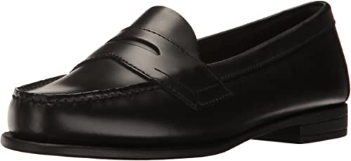 """NEW WOMENS SIZE 9.5 BROWN 3/""""  HEELED LOAFER by CLASSIQUE"""