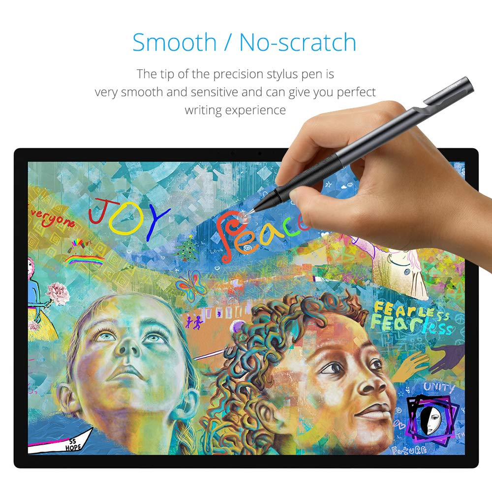 LACORAMO Universal Capacitive Stylus Pen-Styli with Precise Pencil Tip-High Sensitivity Pen Compatible for iPad-iPhone-Samsung-Tablets huawei//Note//Tab//LG//HTC//OnePlus//Android//iOS Touch Screen