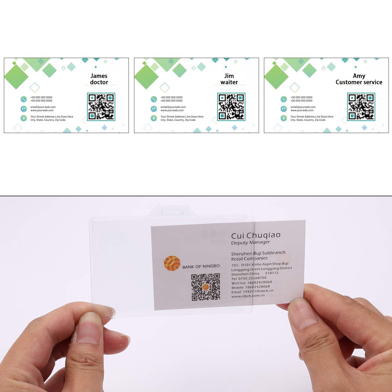 OOTSR Bobine per badge a scomparsa per infermiere confezioni con porta badge per ID confezioni 3.7x2.4 porta badge per donna e porta badge per personale di ufficio//banca//ospedale//supermercato