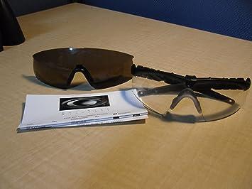 FALSE brivido compensare  Oakley M Frame 2.0 Ballistic / Industrial Strike Clear Safety Glasses - -  Amazon.com