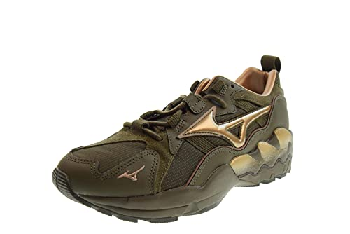 info for 6cd70 d2156 MIZUNO 1906 Shoes Men Low Sneakers D1GA192837 Wave Rider 1 Green   Amazon.co.uk  Shoes   Bags