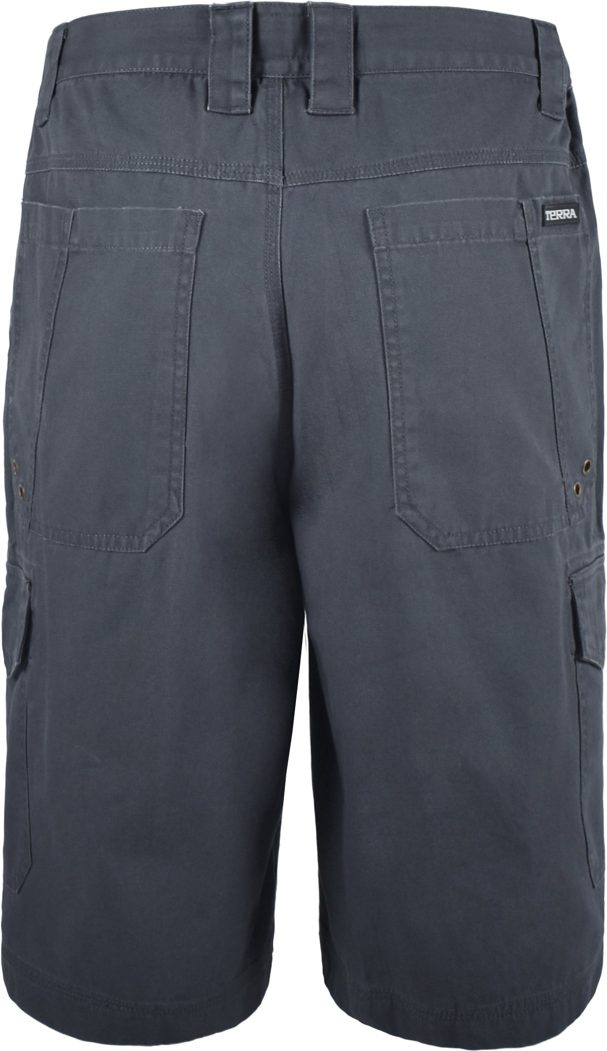 Terra 10-0113-CH34 Vice 100% Cotton Heavy Duty Multi-Pocket Cargo Style Work Short Safety Pants with 34'' Waist by Terra (Image #2)