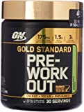 Optimum Nutrition Gold Standard Pre Workout, Green Apple, 300 Grams