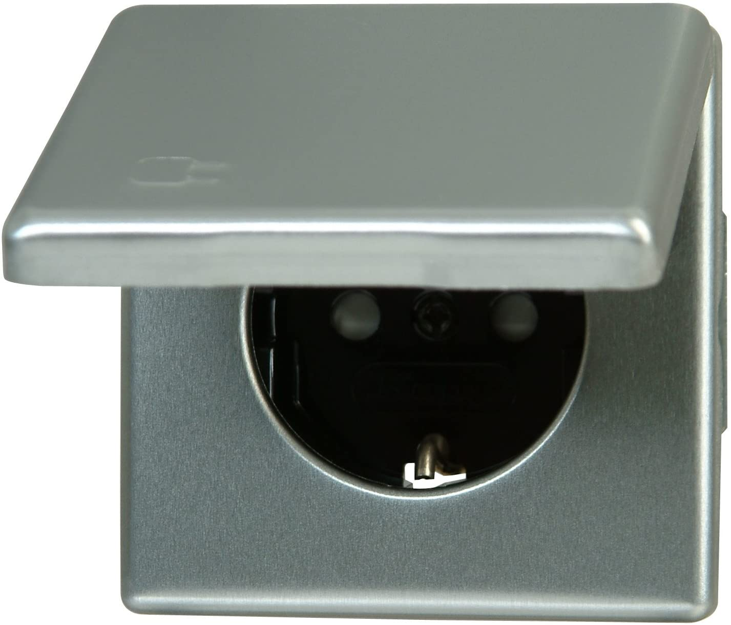 Enchufe con Tapa y protecci/ón de Contacto Kopp 115620083 Vision