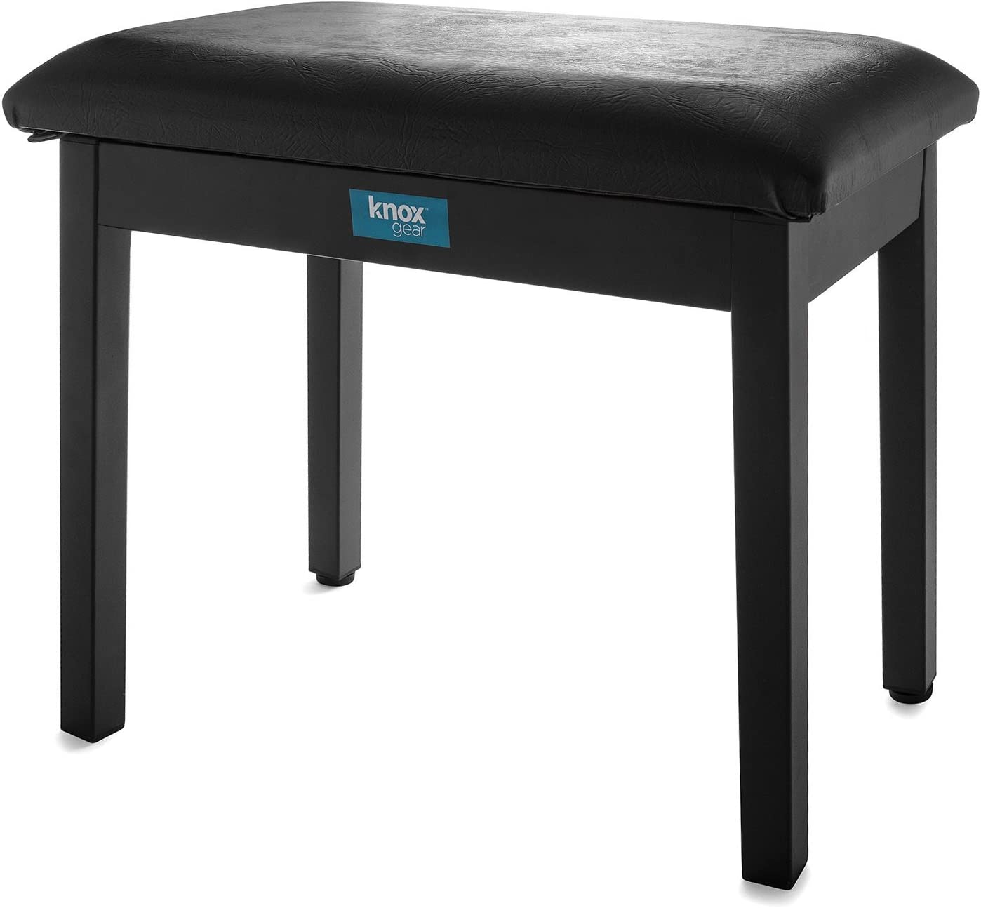 Knox Gear Furniture Style Flip-Top Piano Bench (Black)