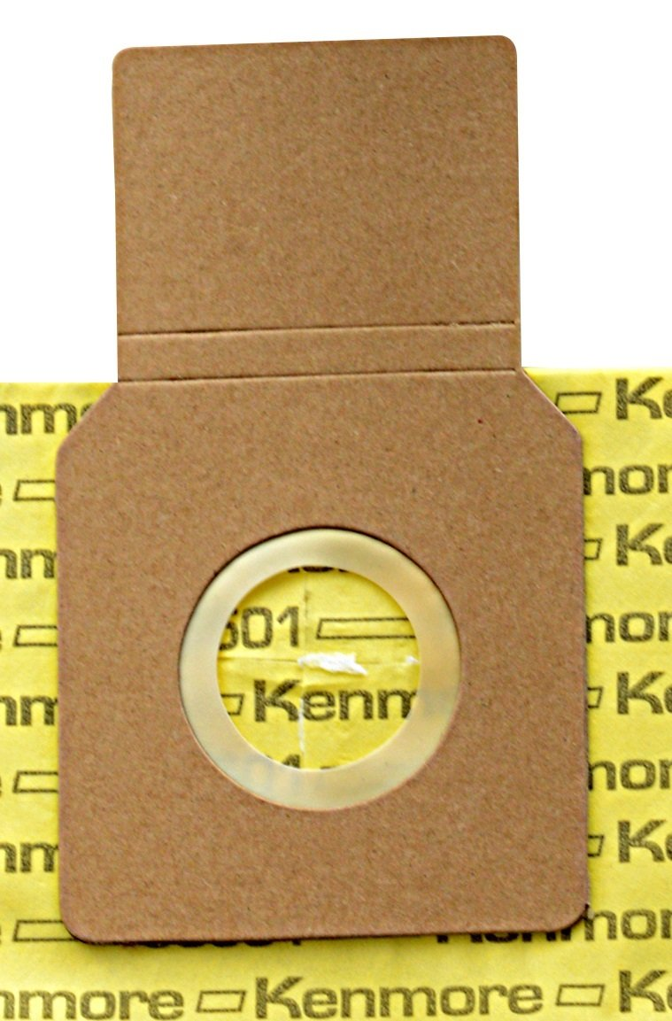 40324 HEPA Exhaust Filter Kenmore 50501 Micro-Lined Vacuum Bags Designed to fit Kenmore Upright Vacuum Cleaners 1 Filter Package of 6 Bags