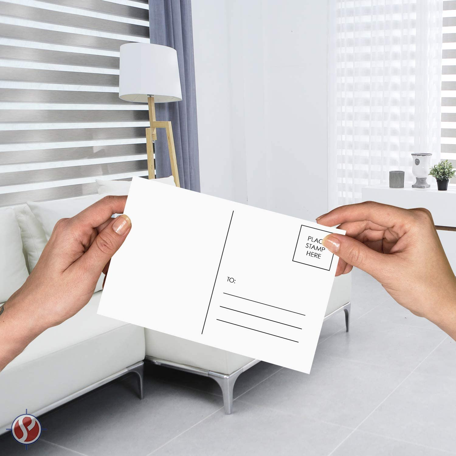 mailable 50 per pack 4 x 6 Blank White Postcards Postal office compliant