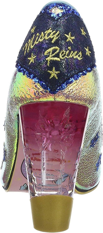 #Irregular Choice Lady Misty Gold Womens Hi Heels Shoes-37