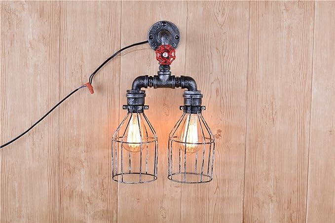 Luce della lampada da parete chic moderna alla moda del riparo