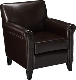 Outstanding Amazon Com Home Dalton Fabric Recliner Club Chair Light Customarchery Wood Chair Design Ideas Customarcherynet
