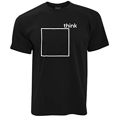 1fb21608c Funny T Shirt Think Outside The Box Novelty Pun | Amazon.com