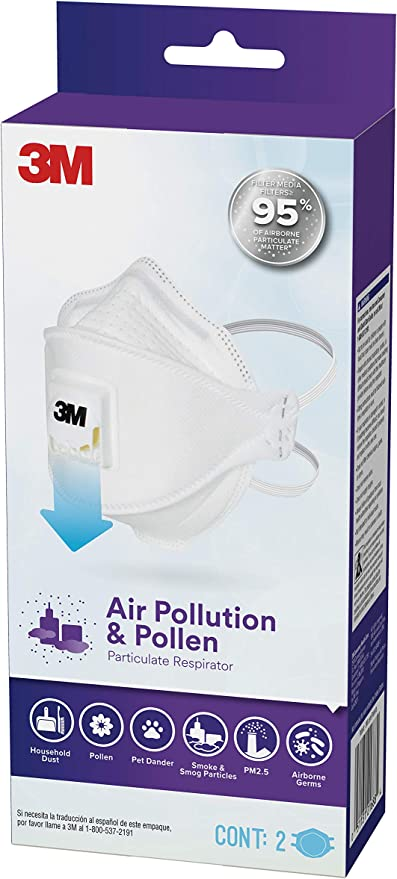 3m pollution mask