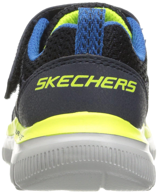 Skechers Kids Boys Flex Advantage 2.0 Strap Sneaker