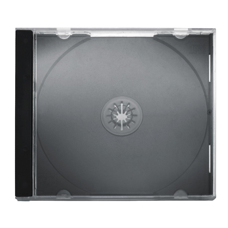 hama cd leerh llen schutzh lle slim line h he 5mm cd h llen 50er pack transparent schwarz. Black Bedroom Furniture Sets. Home Design Ideas