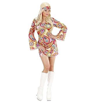 WIDMANN Disfraz Hippie de niña a partir de 14 años (S/76173 ...