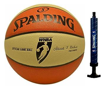 Spalding - Balón oficial WNBA Juego para las mujeres, (28.5-inch ...