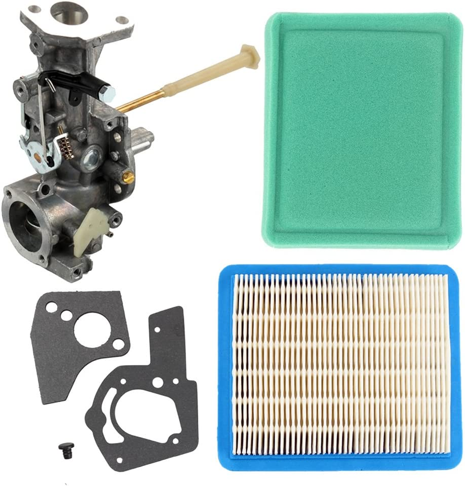 Butom 498298 Carburetor with Air Pre Filter Gasket for 495951 112202 112212 112232 112252 112292 134202 135202 133212 130202 135200 112200 130200 Engine