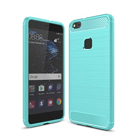 Huawei P10 Lite Funda iBetter Huawei P10 Lite Silicona Carcasa Buen sentido de la mano Bumper con Absorción de Impactos y Anti-Arañazos Case Cover ...