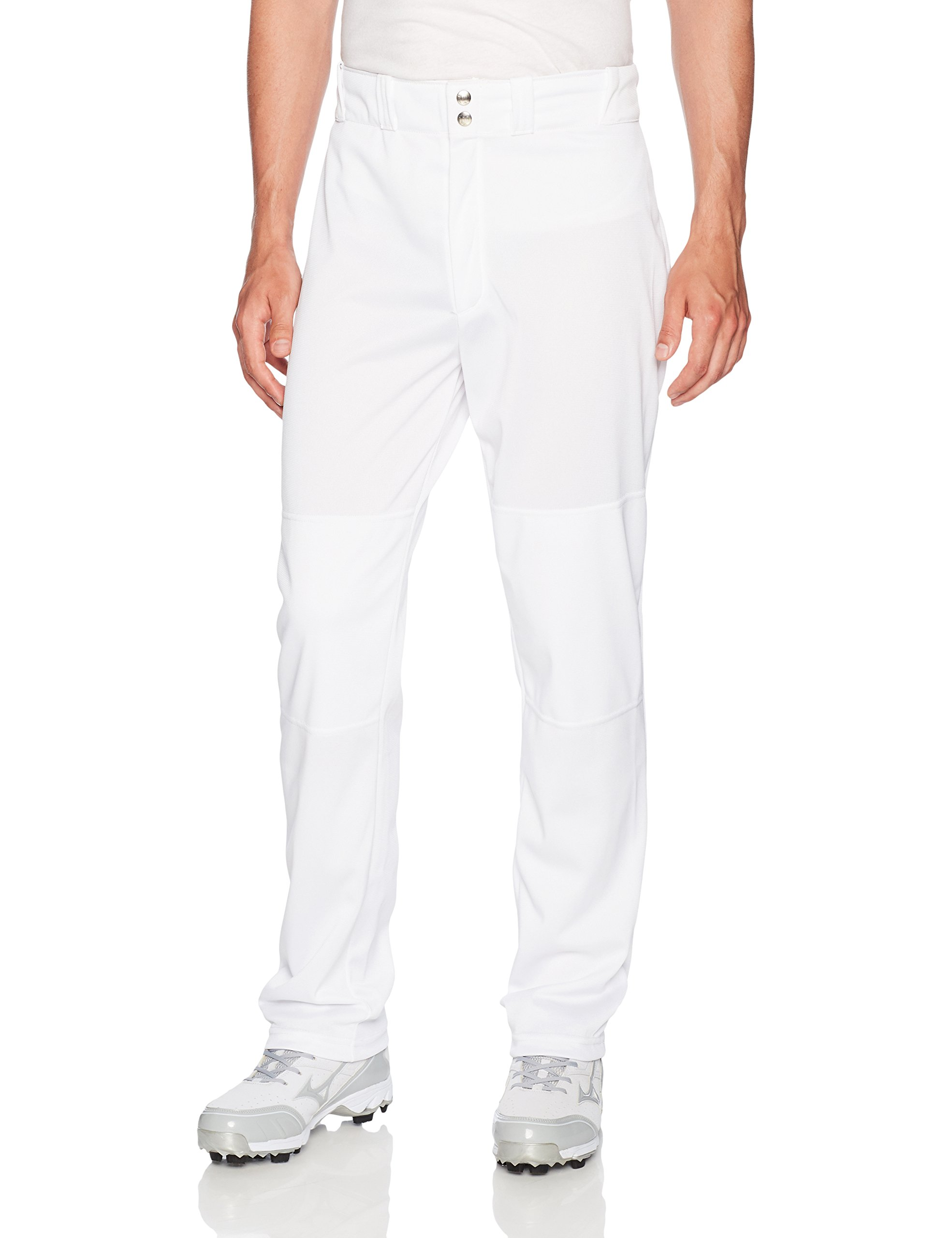 Wilson Men's Classic Relaxed Fit Baseball Pant, White, Medium by Wilson