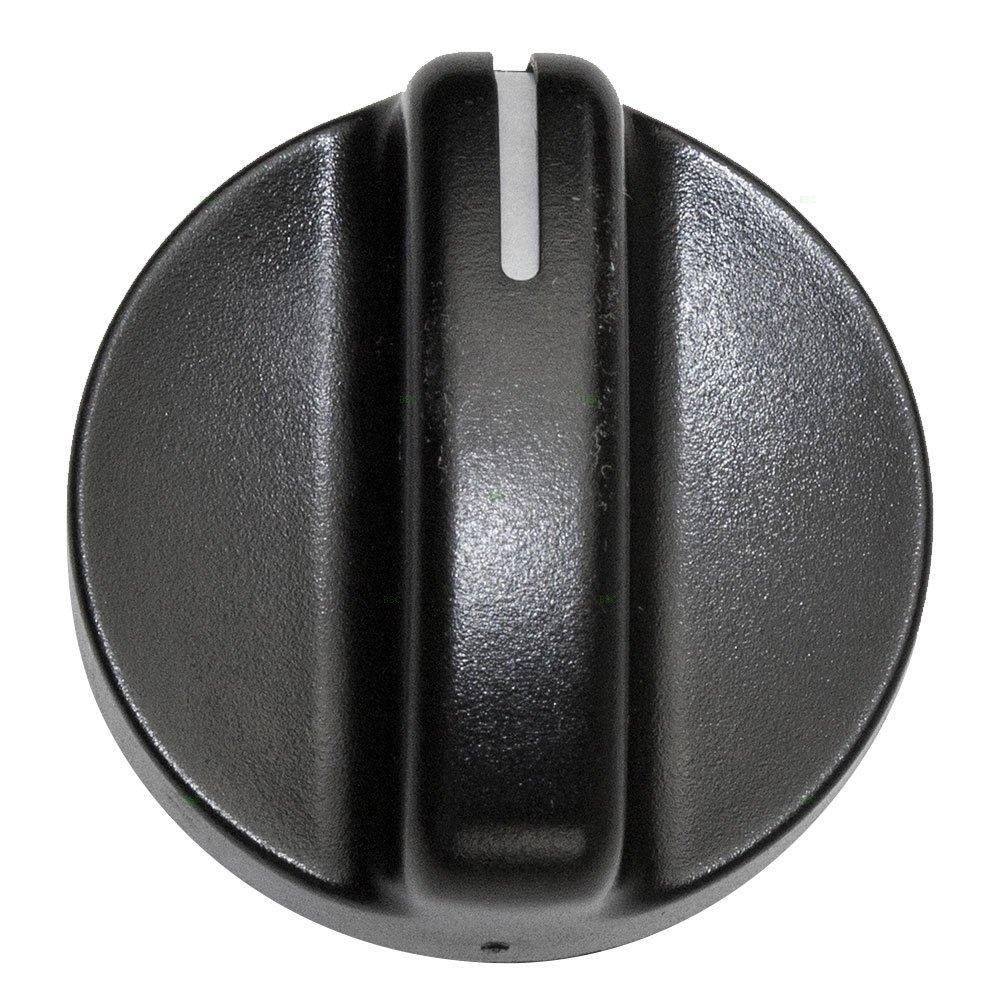 A/C AC Heater Blower Fan Temperature Control Knob