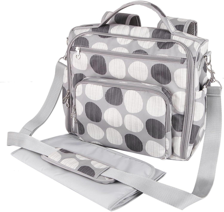 Allis Chic Multiway Changing Bag (Grey): Amazon.co.uk: Baby