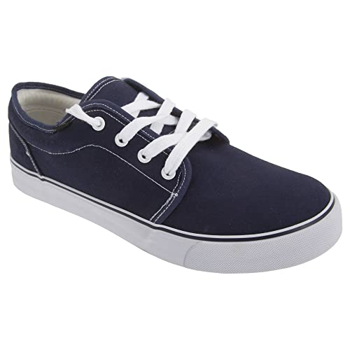 Sneakers blu navy per bambina Dek zmZckP