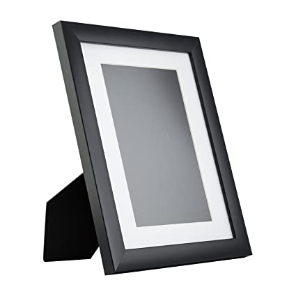 d00d57775e1 Amazon.com - Craig Frames 1WB3 Contemporary Table-Top 8.5 x 11 Standing  Picture Frame with Mat