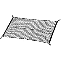 """MICTUNING Upgraded 41""""x30"""" Cargo Net Auto Trunk Rear Cargo Organizer Elastic Mesh Net Holder - Universal Fit for SUV…"""