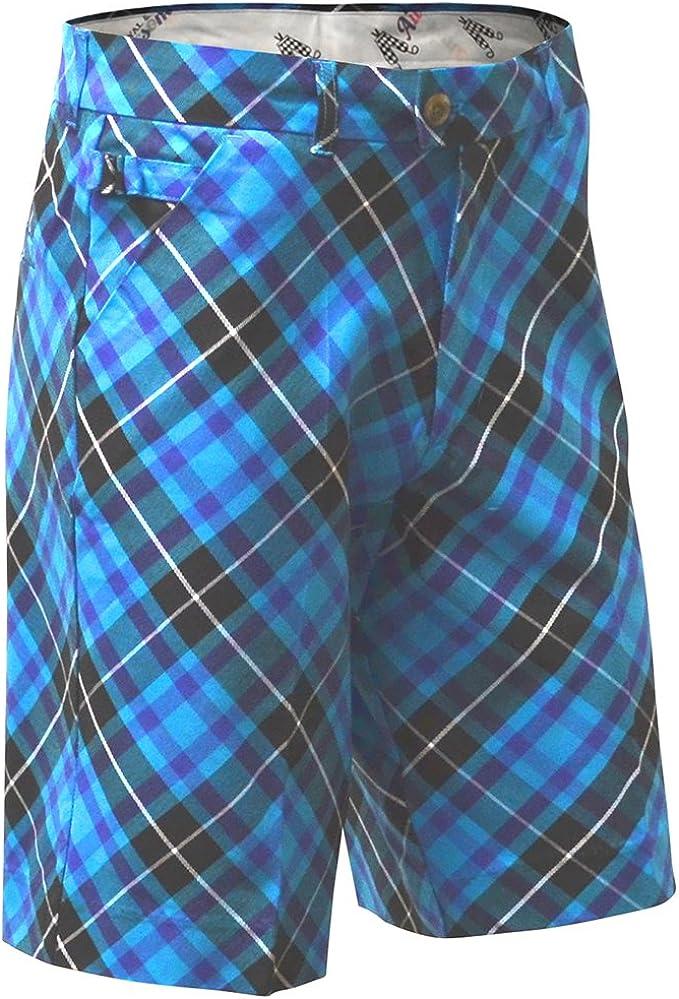 TALLA FR : XXL (Taille Fabricant : 42/32). Royal Blue & Asombroso Plaid Trews Foely