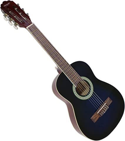 Set de guitarra clásica para zurdos, tamaño 1/2, para niños, ideal ...