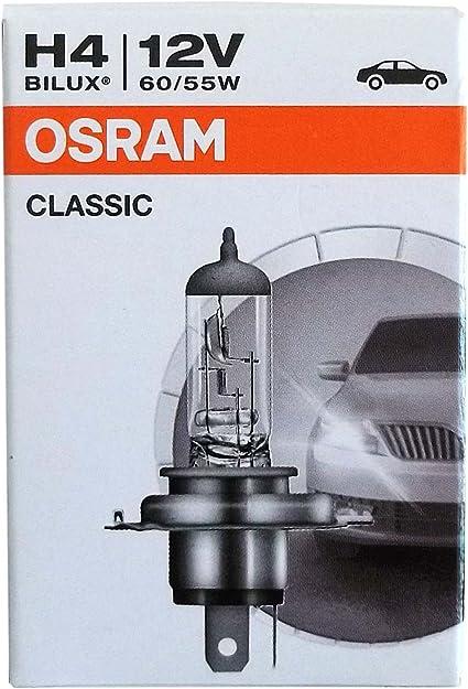Osram H4 Original 60 55 Watt 12 Volt Pkw Bilux Autolampe Birne Lampe Licht Front Auto