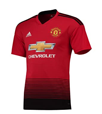 b583a98e672 Amazon.com  Manchester United FC Official Soccer Gift Mens Home Kit ...