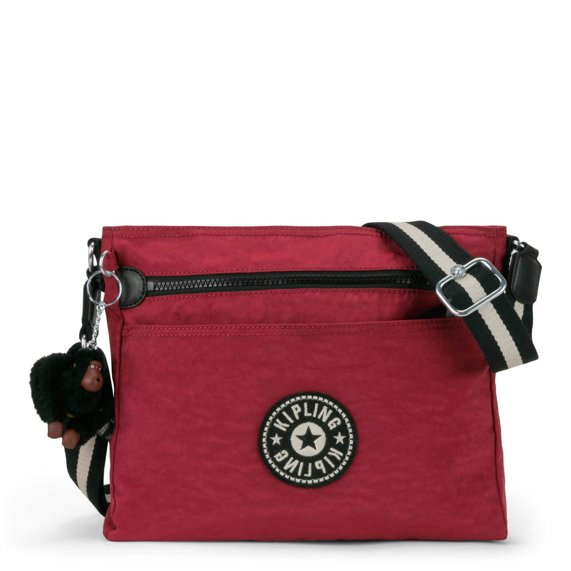 Kipling Shelia Solid Handbag, Brick Red by Kipling