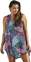 swimsuitsforall Women's swimsuitsforall Moroccan Patchwork High-Low Tunic