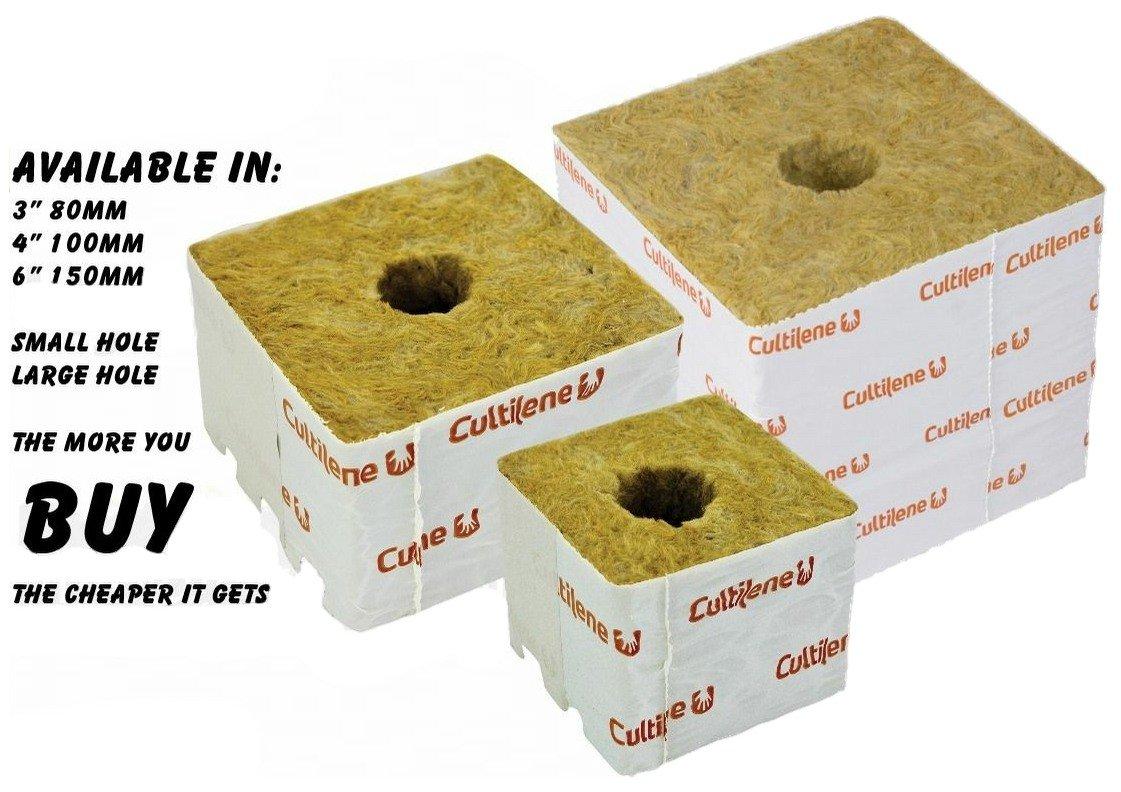 Cultilene Rockwool Cubes Grow Blocks 3