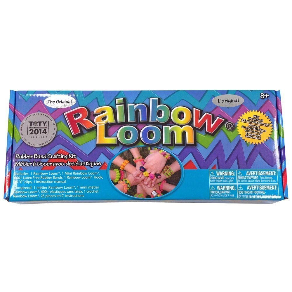Rainbow Loom Bands with Metal Hook Toy Rejects from Studios R0001
