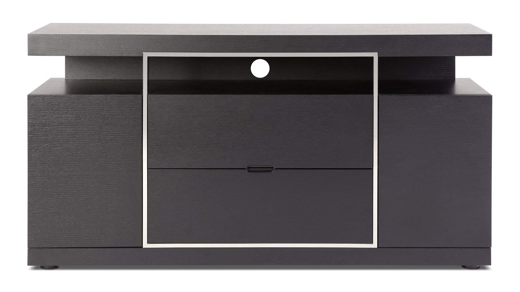 Norah Modern Espresso Wood Serving Buffet with Storage by Zuri Furniture