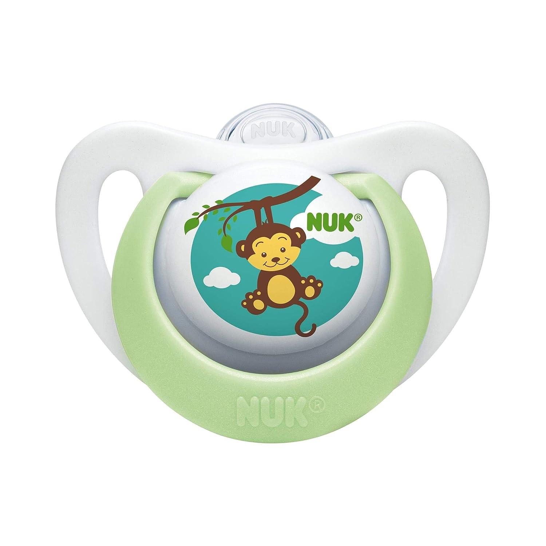 Amazon.com: Chupete en varios colores y estilos por NUK para ...