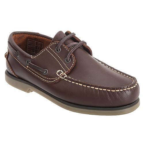 Dek - Mocasines para niños (39 EU/Marrón) : Amazon.es: Zapatos y complementos