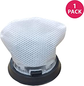 Crucial Vacuum Replacement Vacuum Filters - Compatible with Bissell Bolt Filter Part # 1604734 - Fits Bissel Vacuum Cleaner Models 13122, 13129, 13151, 13139 Vacs - Washable and Reusable - (1 Pack)