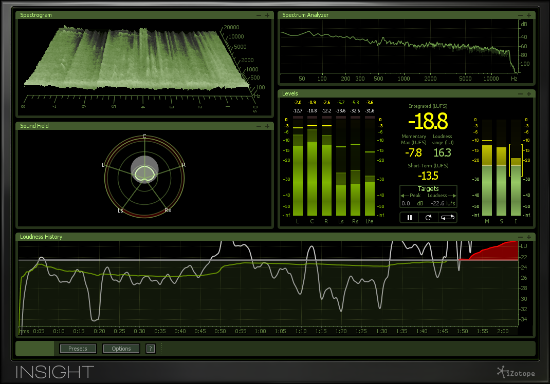 Insight: Analysis and Metering Plug-in, iZotope, Inc  [Online Code]