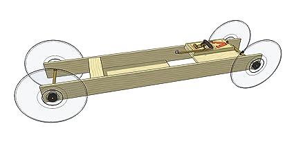 Amazon Com Doc Fizzix Can Dew Mousetrap Car Kit Toys Games