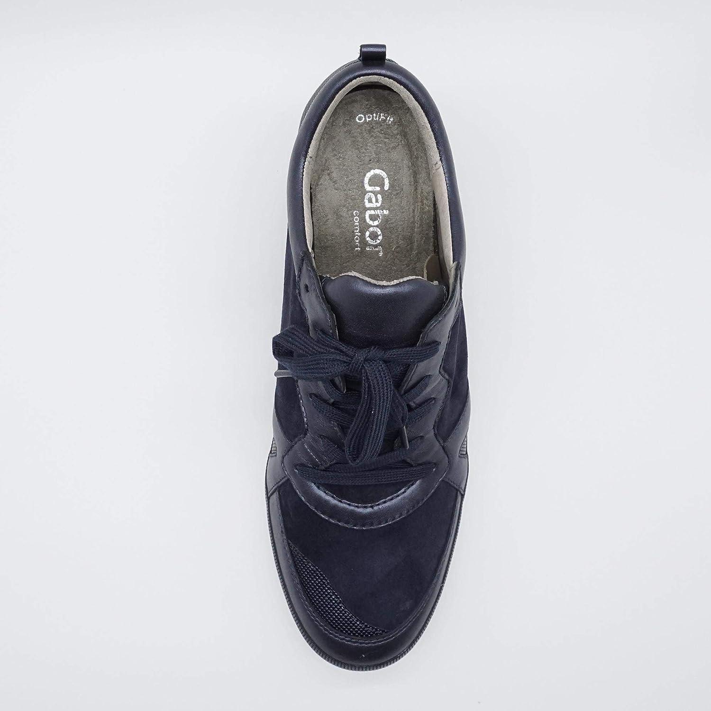 Gabor Damen Keil Sneaker 62.675.46 Blau, Größe:41 EU: Amazon