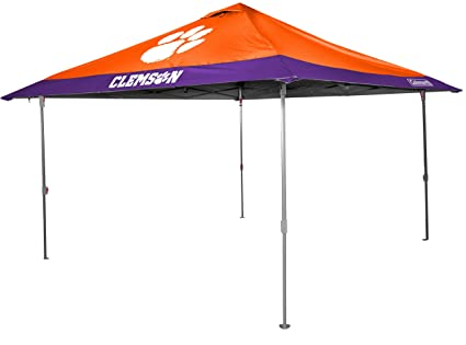 Image Unavailable  sc 1 st  Amazon.com & Amazon.com : Rawlings Clemson University Tigers 10 X 10 Eaved Canopy ...