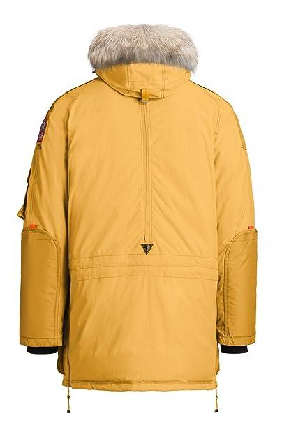 Parajumpers Men's Parka Coat Yellow Saffron - Yellow -: Amazon.co.uk: Clothing