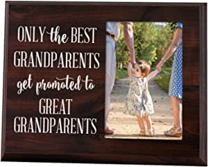Great Grandparents EST 2019 4-inch x 6-Inch Wood Picture Frame