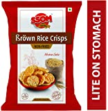Brown Rice Crisps - Non Fried - (Mexican Salsa Brown Rice Crisps) (5 Packets)