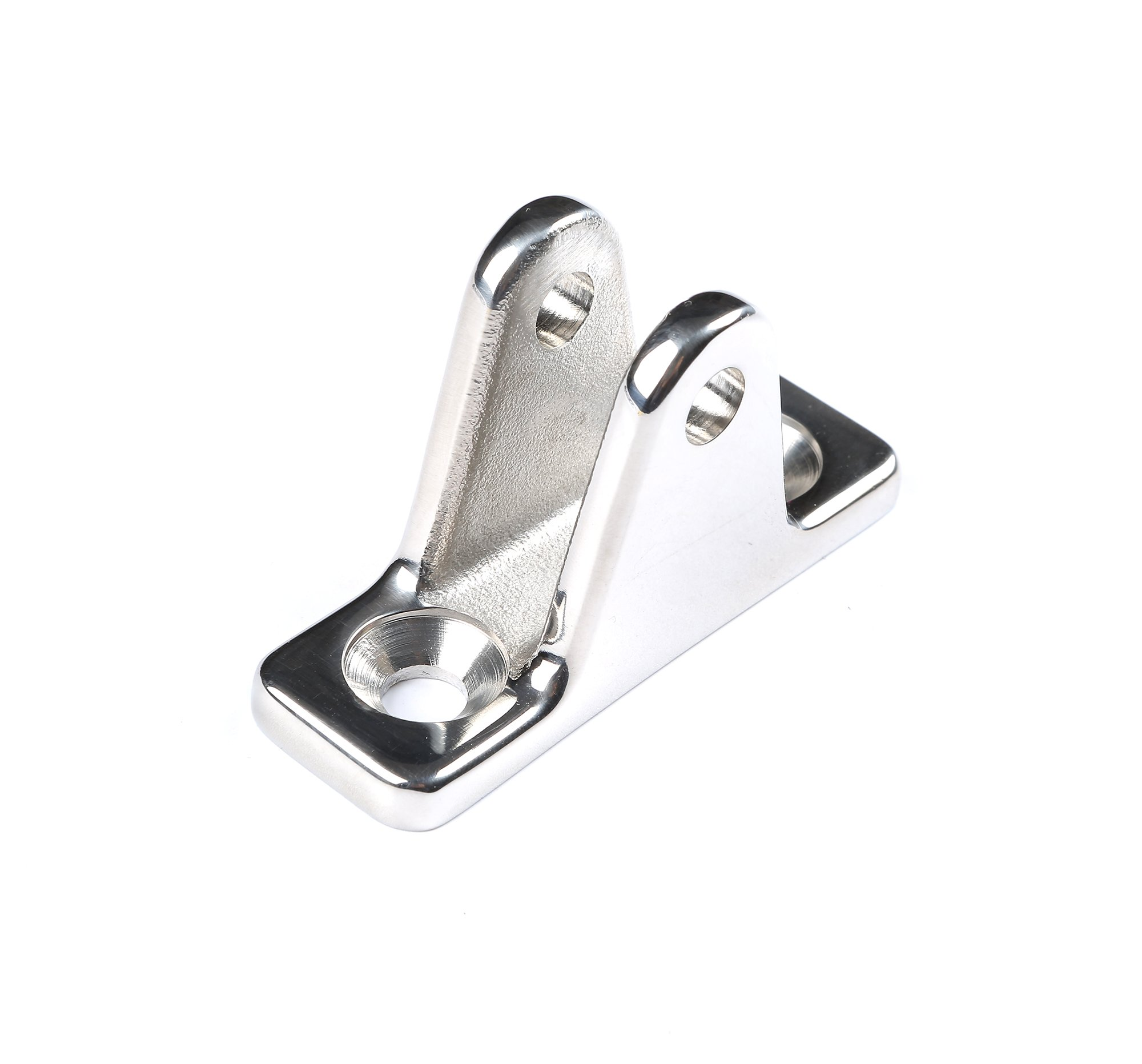 MxEol Boat Bimini Top Deck Hinge w/Lanyard Quick Release Pin w/Screws Stainless Steel by MxEol (Image #5)